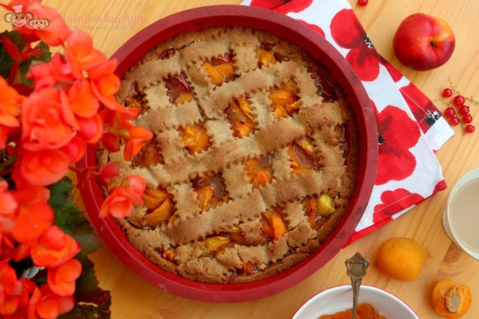 Špaldový mřížkový koláč pro děti od 1 roku