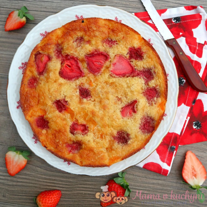 Karolínčin vločkový koláč pro děti od 1 roku